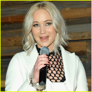 Jennifer Lawrence Talks Equal Pay at Women in Film Pre-Oscar Party