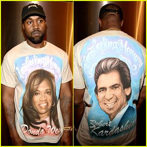 Kanye West Pays Tribute to Mom Donda & Kim's Dad Robert Kardashian at Yeezy Show