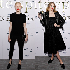 Kate Bosworth & Jaime King Attend Kate Spade Fashion Show