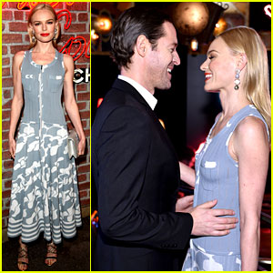 Kate Bosworth & Hubby Michael Polish Share Cute Moment at Chanel's I Love Coco Party