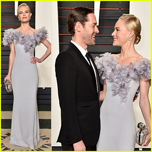 Kate Bosworth & Michael Polish Are One Classy Couple at Vanity Fair Oscar Party 2016