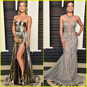 Kate Hudson Puts Her Leg on Display at Oscars 2016 Vanity Fair Party!