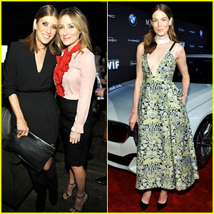 Kate Walsh & Sasha Alexander Celebrate Women in Film at Pre-Oscar Cocktail Party