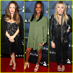 Katharine McPhee & Kelly Rowland Kick Off Grammys Weekend with Delta