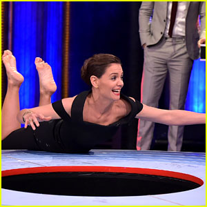 Katie Holmes Shocks with Fierce 'Musical Beers' Moves! (Video)