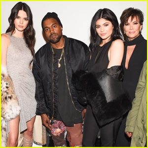 Kendall & Kylie Jenner Get Support From Kanye West at Launch of Lifestyle Brand in NYC