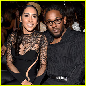 Kendrick Lamar & Fiancee Whitney Alford Attend Grammys 2016!
