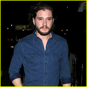 Kit Harington Steps Out Solo for Late Night in Hollywood