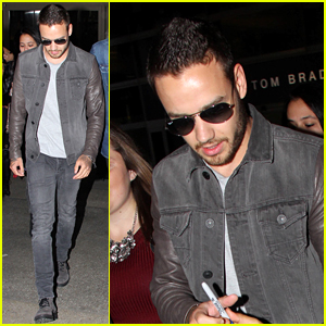 Liam Payne is Mobbed By Fans Up Arrival at Airport