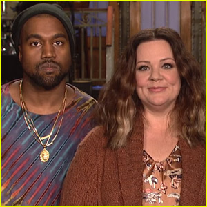 Melissa McCarthy & Kanye West Get Ready for the 'Biggest Show Ever' in 'SNL' Promo