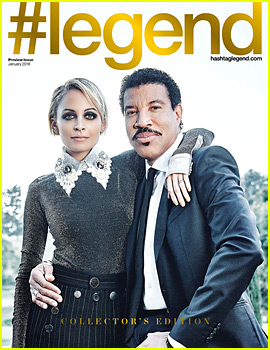 Nicole Richie & Dad Lionel Cover '#Legend' Preview Issue!