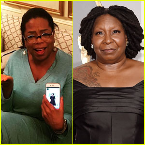 Oprah Reacts After Being Confused for Whoopi Goldberg at Oscars on Beauty Website
