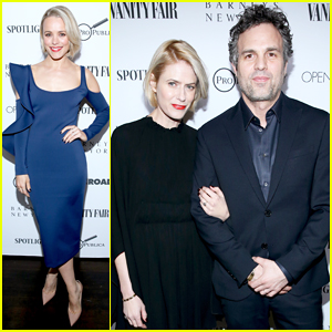 Rachel McAdams Debuts Platinum Blonde Hair at 'Spotlight' Dinner!