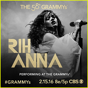 Rihanna Set To Perform At Grammys 2016!