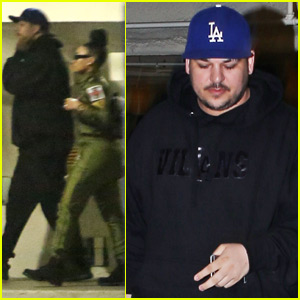 Rob Kardashian Shows Off Slimmer Figure While Out With Blac Chyna