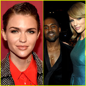Ruby Rose Slams Kanye West for His Taylor Swift Lyrics