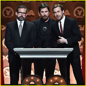 Ryan Gosling & Christian Bale Celebrate 'Big Short' Director at DGA Awards 2016