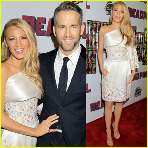 Ryan Reynolds & Blake Lively Couple Up at 'Deadpool' Screening