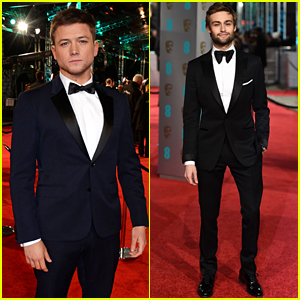 Rising Star Nominee Taron Egerton Suits Up at BAFTAs 2016!