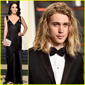 Vanessa Hudgens Attends Vanity Fair Oscar Party with Boyfriend Austin Butler!