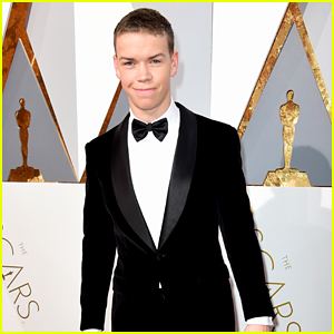 Will Poulter Supports 'The Revenant' at Oscars 2016