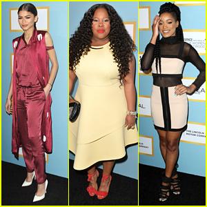 Zendaya, Amber Riley & Keke Palmer Stun At Essence Black Women In Hollywood Awards Luncheon