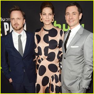 Aaron Paul, Hugh Dancy & Michelle Monaghan Team Up At 'The Path' Premiere!