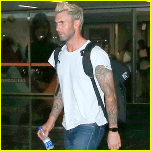 Adam Levine Ate Cake Alone on His Birthday & Loved It!