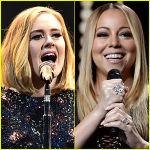 Adele Thinks Mariah Carey Should 'Be In the Bible'