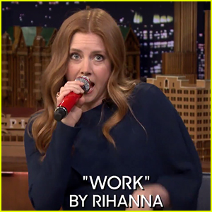 Amy Adams Plays 'Box of Microphones' With Jimmy Fallon - Watch Now!