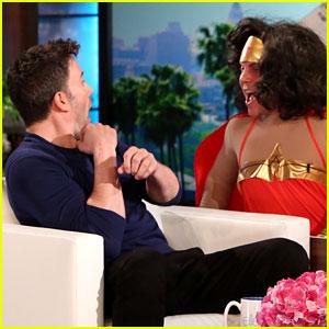 Ben Affleck Gets Scared by Wonder Woman on 'Ellen' (Video)