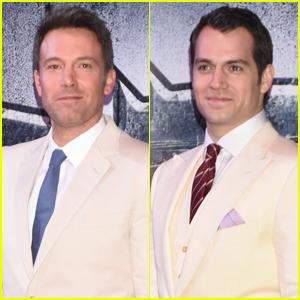 Ben Affleck & Henry Cavill Premiere 'Batman v Superman: Dawn of Justice' in Mexico City