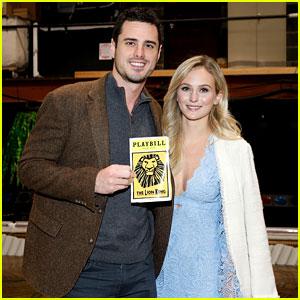 The Bachelor's Ben Higgins & Lauren Bushnell Have a Broadway Date Night!