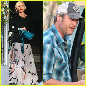 Gwen Stefani & Blake Shelton Spend Easter with Her Parents & Kids!