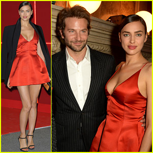 Bradley Cooper & Irina Shayk Make First Public Event Appearance Together!