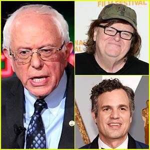 Celebs React to Bernie Sanders' Surprise Win in Michigan