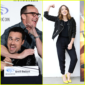 Chloe Bennet & Clark Gregg Hit 'Agents of SHIELD' Panel at WonderCon 2016