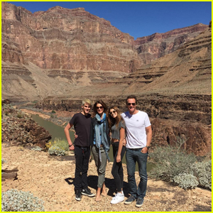 Cindy Crawford Shares Family Photo at the Grand Canyon
