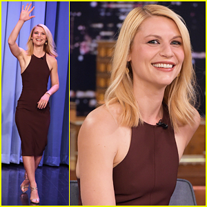 Claire Danes Plays Fast Family Feud with Jimmy Fallon - Watch Now!