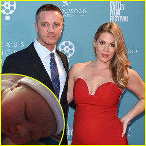 Devon Sawa & Wife Welcome Baby Girl Scarlett Heleena, Debut First Photo!