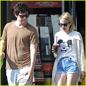 Evan Peters Picks Up Coffee With Emma Roberts After 'X-Men' Trailer Reveal