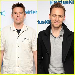 Ethan Hawke & Tom Hiddleston Chat Up Their Films at SiriusXM