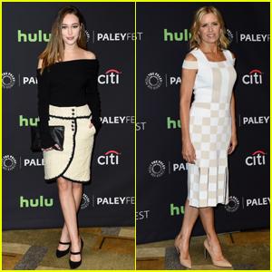 Fear the Walking Dead's Alycia Debnam-Carey & Kim Dickens Hit Up PaleyFest 2016