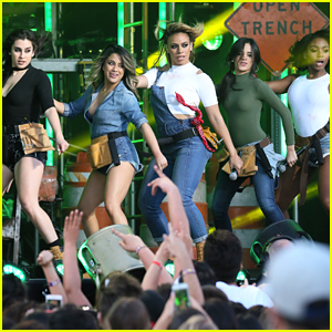 Fifth Harmony Perform 'Work From Home' on Kimmel - Watch Now!
