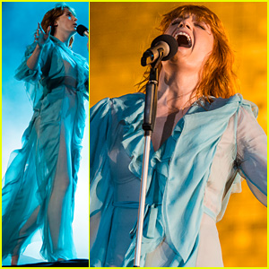 Florence Welch & Her Band Perform at Lollapalooza 2016 - Watch Now!