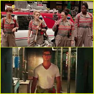 'Ghostbusters' Female Reboot Trailer Debuts - Watch Now!