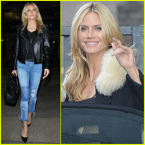 Heidi Klum Says Wearing a Bikini Can Be Intimidating