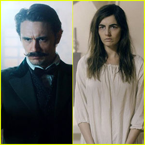 James Franco & Camilla Belle in 'The Mad Whale' - First Look!