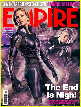 Jennifer Lawrence & 'X-Men: Apocalypse' Stars Cover 'Empire'