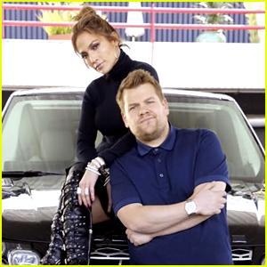 Jennifer Lopez's 'Carpool Karaoke' with James Corden (Video)